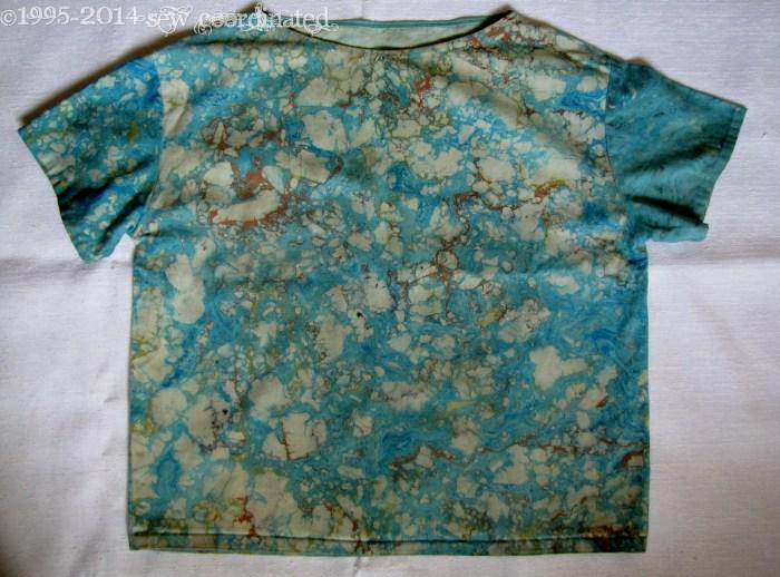 Marbleized shirt 1