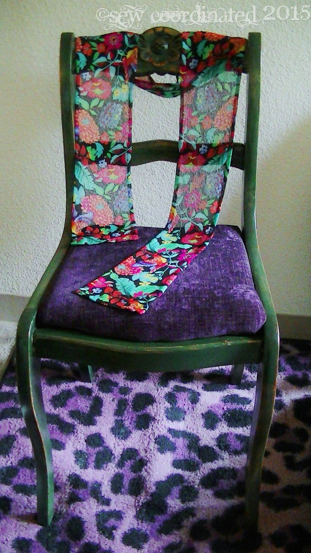 Scarf on Chair 1