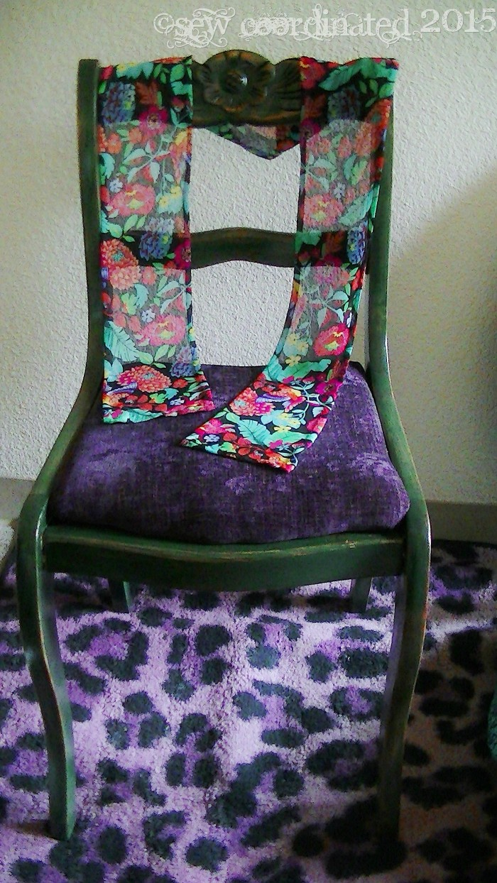 Scarf on Chair 2