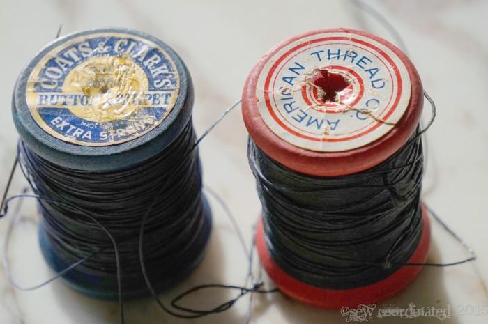 Button & Carpet Thread