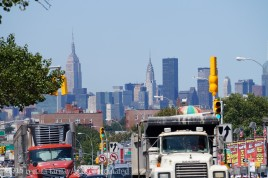Manhattan Skyline from Queens