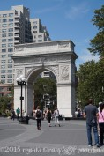 The Washington Square Park Arch